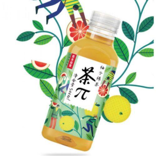 农夫山泉柚子绿茶