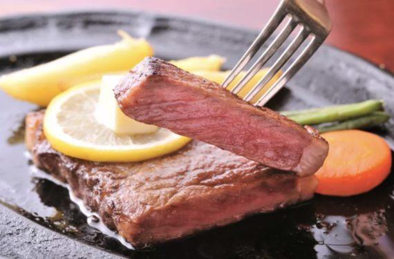 full blood A5 Japanese wagyu sirloin steak