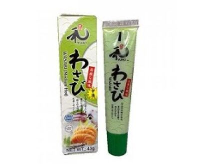 a tube of wasabi