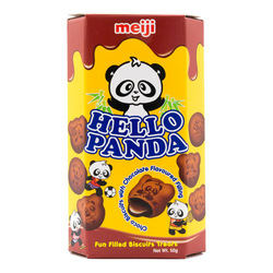 Hello Panda double chocolate biscuit