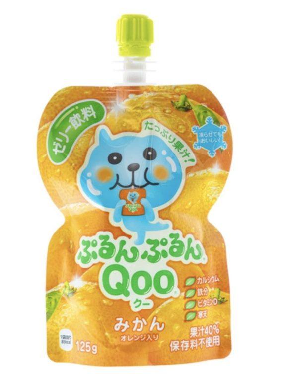 Qoo Mandarin Orange Flavoured Jelly Drink