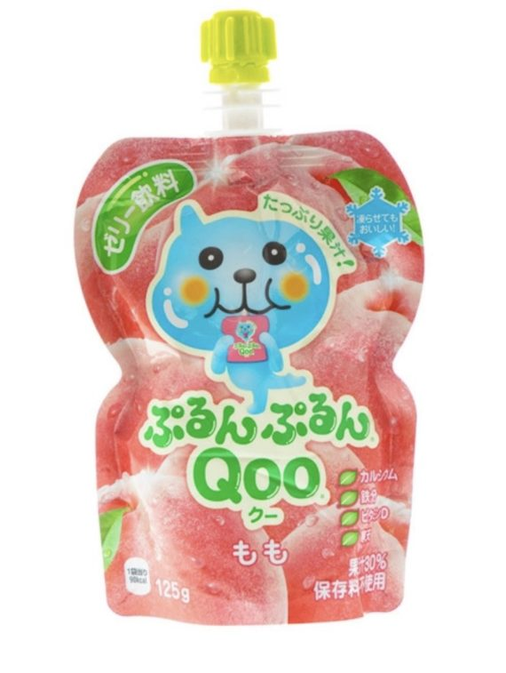 Qoo Peach Flavoured Jelly Drink