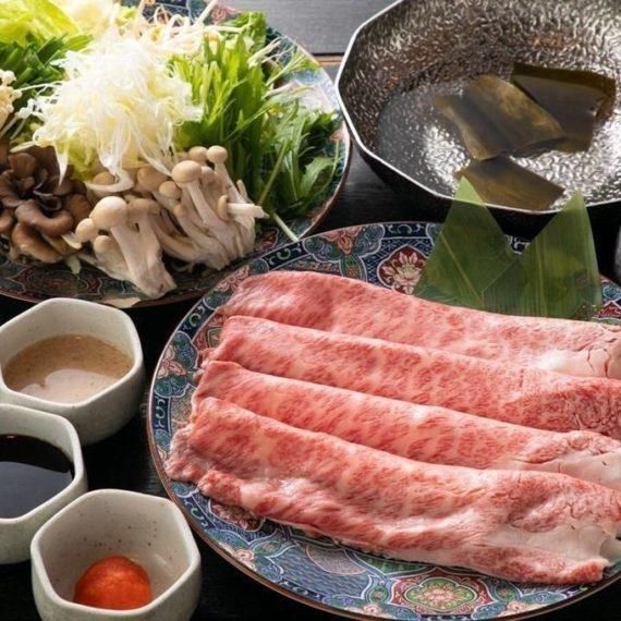 Sukiyaki with Wagyu Beef