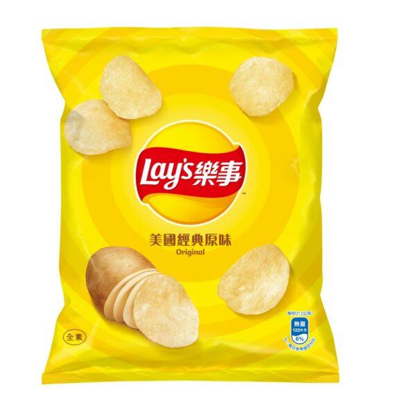 乐事薯片原味