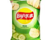 乐事薯片黄瓜味