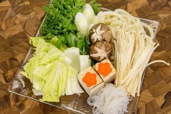 Sukiyaki veg set