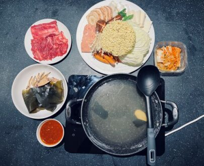 Korean Army Stew for two