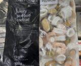 a bag of mixed seafood